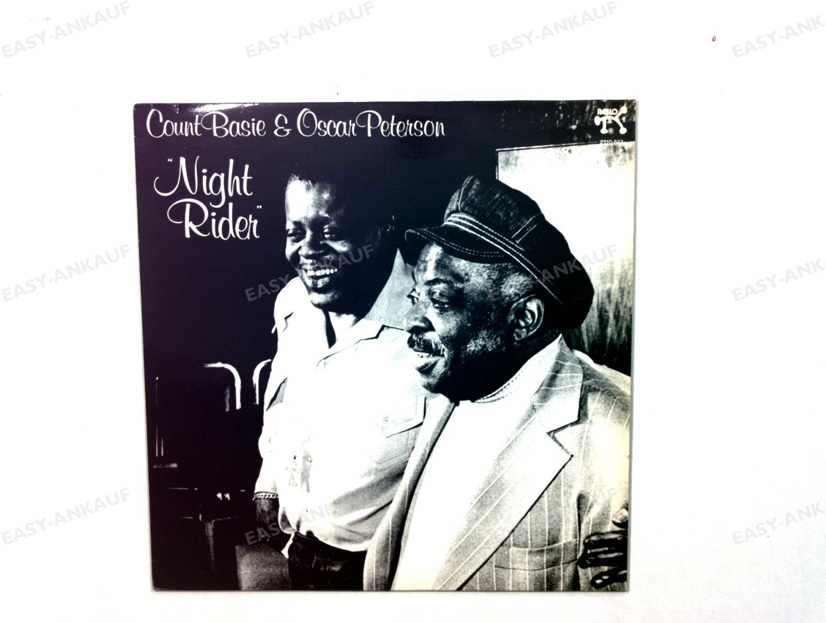 Count Basie & Oscar Peterson - Night Rider GER LP 1980 /3